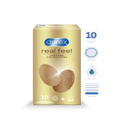 DUREX KONDOOMID REAL FEEL N10