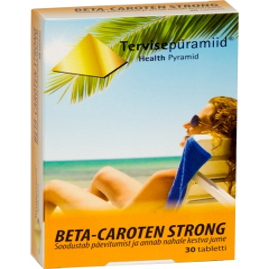 TERVISEPÜRAMIID BETA-CAROTEN STRONG TBL N30